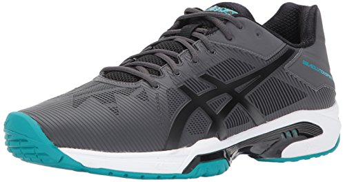 ASICS Herren Gel-Solution Speed ​�? Tennisschuh Dunkelgrau / Schwarz / Lapis