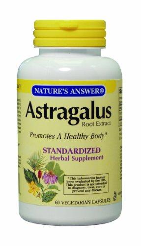 Astragalus réponse de la nature Racine normalisés, 60 capsules végétariennes