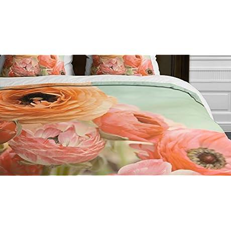 Deny Designs Bree Madden Spring Ranunculus Duvet Cover King