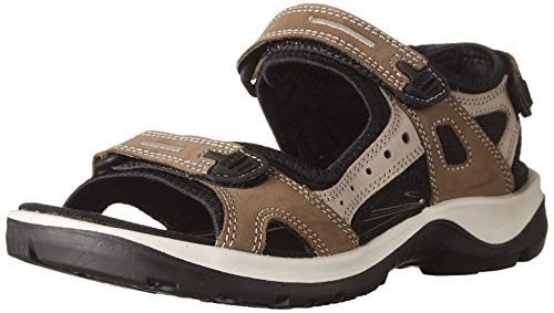 ECCO Women's Yucatan outdoor offroad hiking sandal, birch, 37 M EU/6-6.5 M US