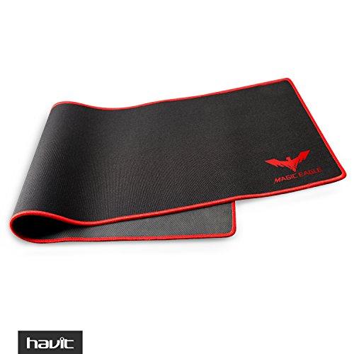 """41E6xnY4ySL - HAVIT HV-MP830 Magic Eagle Large Professional Gaming Mouse Pad -35 x12"""" (Black)"""