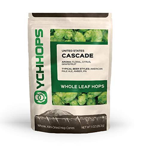 HOPS CASCADE LEAF HOPS 1oz CONE HOPS OREGON USA (Cascade Beer)
