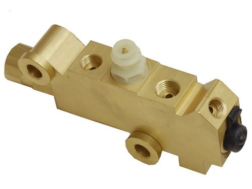 Disc Proportioning Valve - GM Disc Drum Brake Brass Proportioning Valve Street Rod Classic Car & Truck