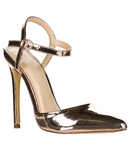 Breckelles Isabel-01 D-Orsay Pumps-Shoes YYF5ie246k