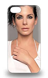 Iphone Design High Quality Sandra Bullock American Female Sandy Gravity The Blind Side Miss Congeniality Cover 3D PC Case With Excellent Style For Iphone 5/5s ( Custom Picture iPhone 6, iPhone 6 PLUS, iPhone 5, iPhone 5S, iPhone 5C, iPhone 4, iPhone 4S,Galaxy S6,Galaxy S5,Galaxy S4,Galaxy S3,Note 3,iPad Mini-Mini 2,iPad Air )