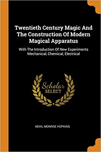 Twentieth Century Magic and the Construction of Modern
