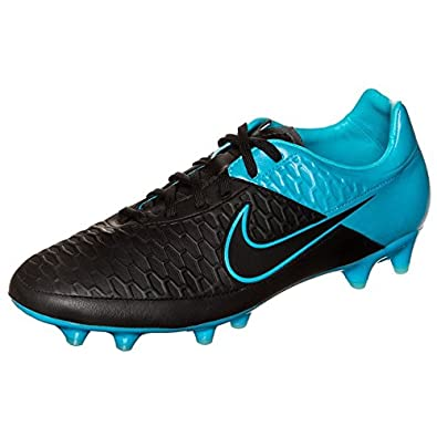Nike Magista Orden Leather Firm Ground [BLACK/TURQUOISE BLUE/BLACK] (7