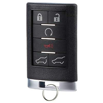 Key Fob fits 2007-2014 Cadillac Escalade Keyless Entry Remote (OUC6000066): Automotive