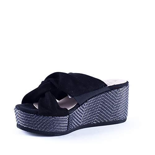 Kanna Sabot Nero sandali Kanna Donna Sabot sandali Nero Nero Donna sandali Kanna Sabot Sabot Donna Kanna 5twTBUq