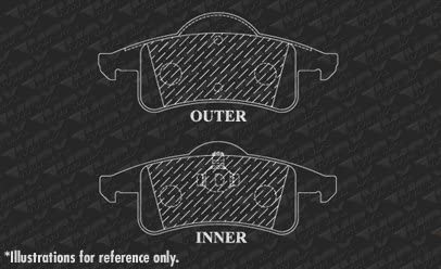 OE Series Rotors + Ceramic Pads Fits: 1999 99 2000 00 2001 01 Jeep Grand Cherokee KT016042 Max Brakes Rear Premium Brake Kit