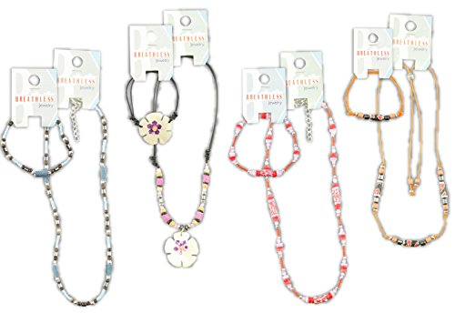 Breathless Fashion Shell Bracelets and Necklaces Party Favors by Breathless