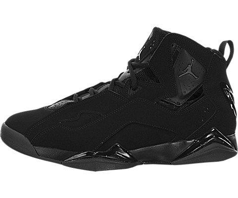 nike-jordan-mens-jordan-true-flight-black-dark-grey-basketball-shoe-9-men-us