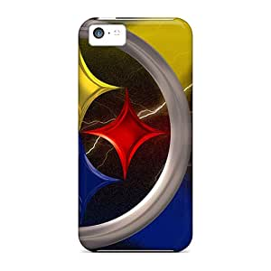 New Style Tpu 5c Protective Case Cover/ Iphone Case - Pittsburgh Steelers
