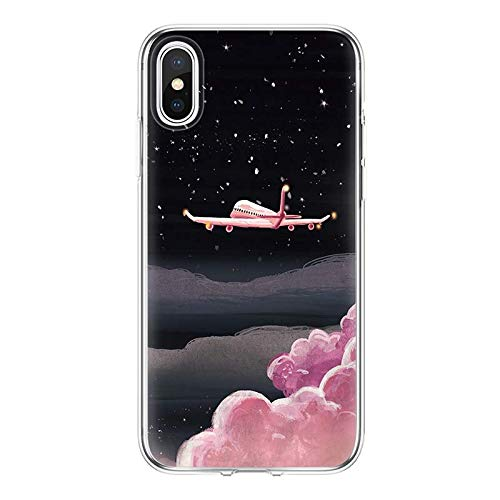 Amazon.com: Soft TPU Phone Shell for iPhone X 4 4S 5 5S SE ...