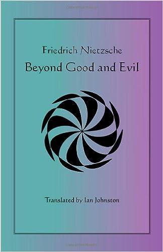 Friedrich Nietzsche Beyond Good And Evil Pdf