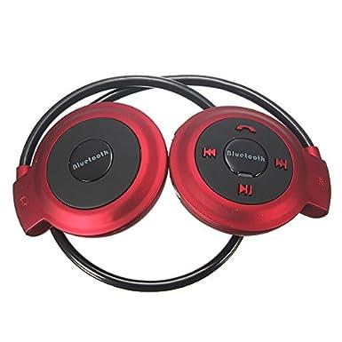 Efanr Mini Bluetooth auriculares estéreo inalámbricos deportes auriculares auriculares con banda para el cuello auriculares con