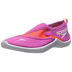 Speedo Kids Surfwalker Pro 2.0 Water Shoes (Little Kid/Big Kid), Pink/White, 13 US Little Kid