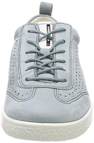 Ecco Soft 1, Sneakers Basses Femme Bleu (Trooper)
