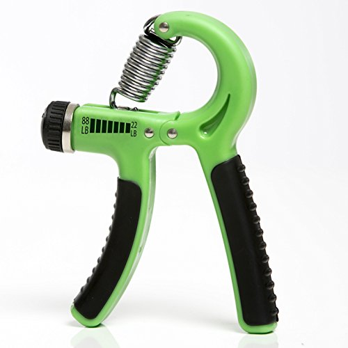 iheartsynergee Hand Gripper The Best Hand Exerciser Grip Strengthener Adjustable Resistance Range 22 to 88 Lbs