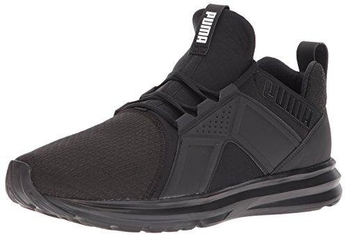PUMA Men's Enzo Sneaker, Black, 10 W US