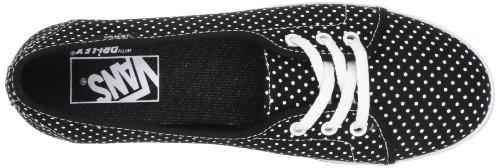 Vans Leah Unisex Stil # Vn-0scy Mens (polka Dot) Svart / Sann Vit