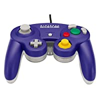 GameCube Controller Clear & Purple