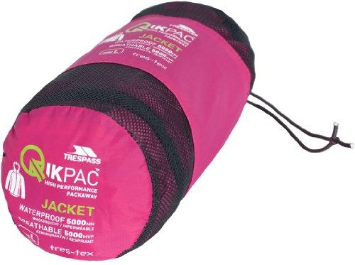 TP75 FLI Trespass Gris Hombre Packaway XXXL sll Qikpac rosa Chaqueta qSSPET