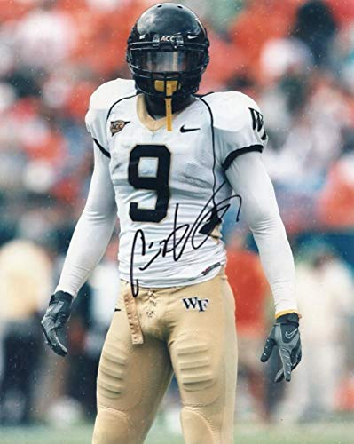 CHIP VAUGHN WAKE FOREST SIGNED 8X10 PHOTO W/COA