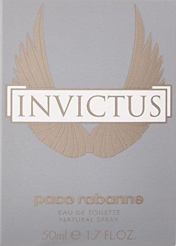 Paco Rabanne Invictus Eau de Toilette Spray for Men, 3.4 Ounce