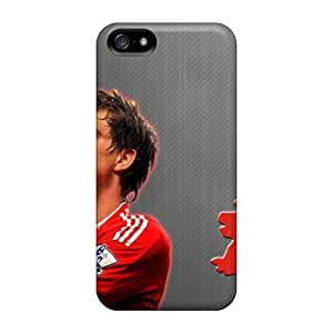 Awesome The Football Player Of Liverpool Daniel Agger One Of The Most Expensive Players Flip Case With Fashion Design For Iphone 5/5s