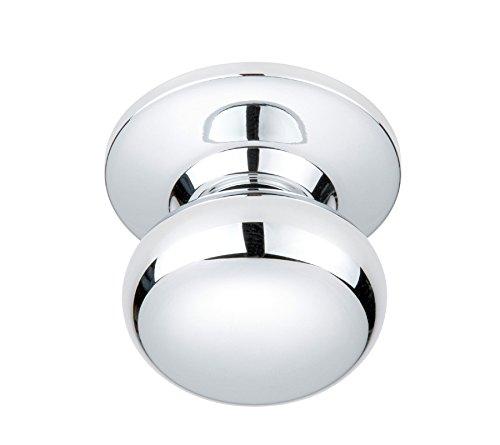 - Better Home Products Noe Valley Mushroom Dummy Knob, Chrome