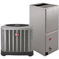3 Ton Rheem 15 SEER R410A Heat Pump Split System (Classic Series)