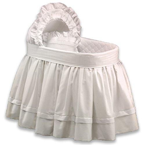 - aBaby Sweet Petite Liner Skirt/Hood, White, 16x32