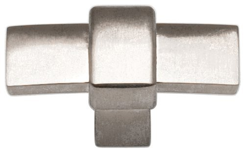 Atlas Homewares 301-BRN Buckle Up Collection 1.8-Inch Knob, Brushed Nickel by Atlas - Brn Buckle