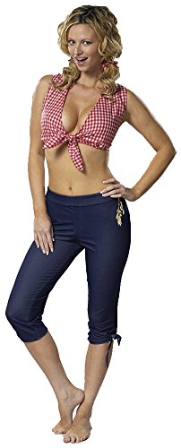 [Adult-Costume Farmers Daughter Md Halloween Costume - Adult Medium] (Farmers Daughter Halloween Costume)