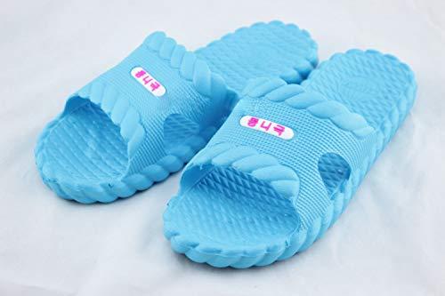 Blu Scarpe Per Casa Bagno Estate Pantofole Di Cielo Delle Torsione La Qsy Uomini Domestiche Shoe Donne Degli Del p4RnTqxABw