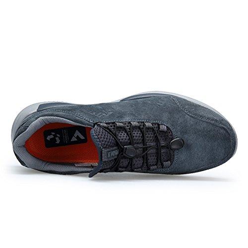 Atmungsaktive Schuhe Männer Frauen Leichte Wintermode Paar Outdoor Laufschuhe Grau