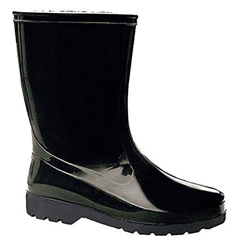 LEMIGO Gummistiefel Regenstiefel IGA (37/38, schwarz) Schwarz