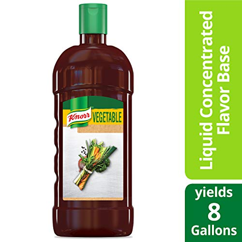 Price comparison product image Knorr Ultimate Liquid Concentrated Base Vegetable 32 oz,  Pack of 4