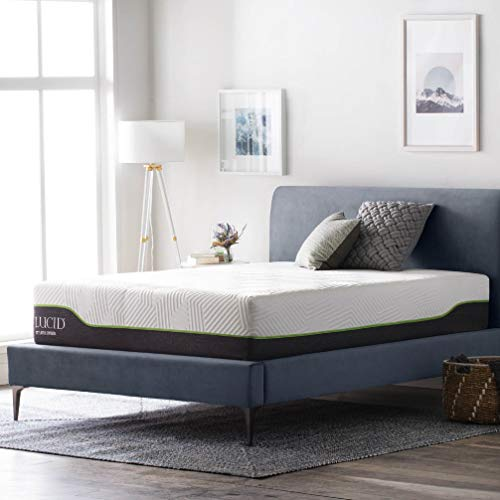 Lucid 12-inch Hybrid Twin Mattress