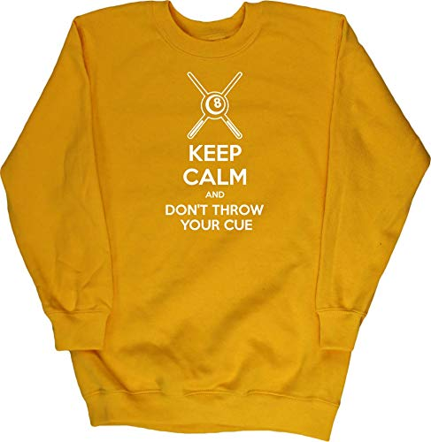 Hippowarehouse Keep Calm Don't Throw Your Cuekids Children's Unisex Jumper...