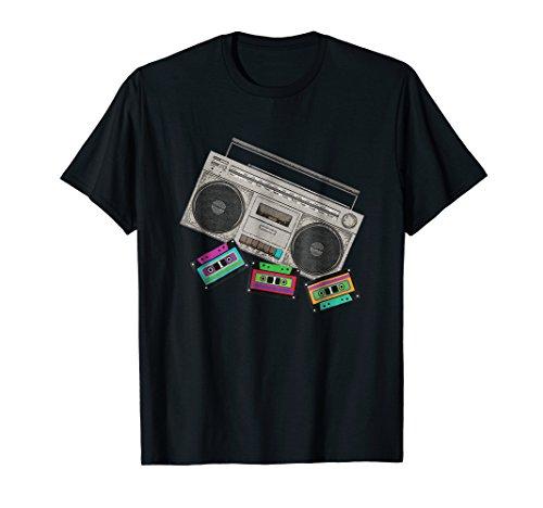 (Vintage Tape Player T-Shirt Mixtape Cassette Nostalgia)