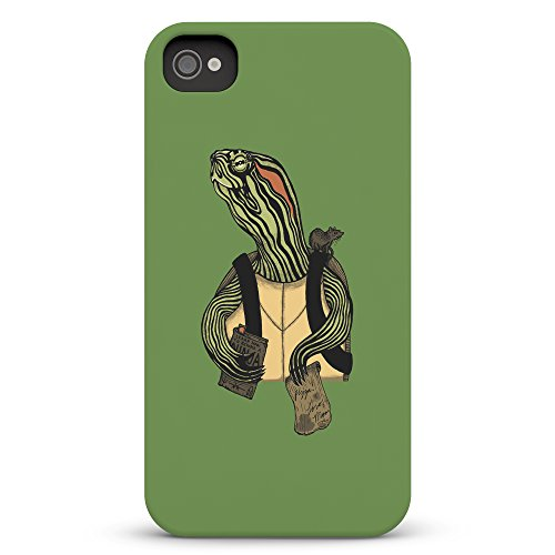 Koveru Back Cover Case for Apple iPhone 4/4S - Old age ninja turtle