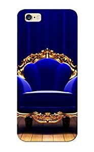 Awesome Design Blue Couch Studio King Armchair Hard Case Cover For Iphone 6 Plus(gift For Lovers)