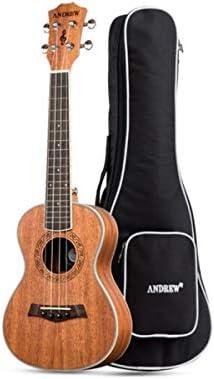 ウクレレ、ウクレレ23インチ、小型ギター、初心者楽器ウクレレ、ギター楽器、マホガニークラシックA-05 (Size : 23 inches)