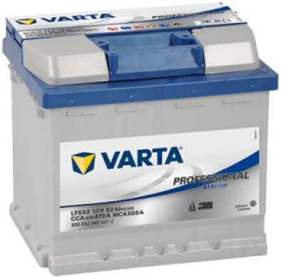 Batterie de démarrage Varta Silver Dynamic L1B C6 12V 52Ah