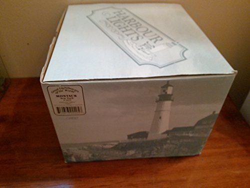 Harbour Lights Lighthouse Montauk NY #405 Great Lighthouses of the World 1997 1998