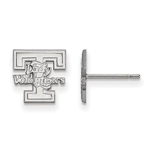 LogoArt 10k White Gold University of Tennessee XS Post Earrings 1W049UTN by LogoArt
