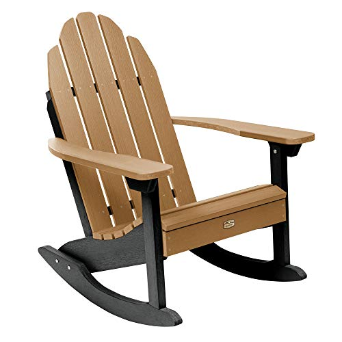 Elk Outdoors EO-ROCCW2-CAR The Essential Adirondack Rocking Chair, Caribou ()