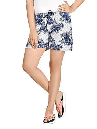 Club A9 Women Cotton Printed Shorts   Lounge Shorts